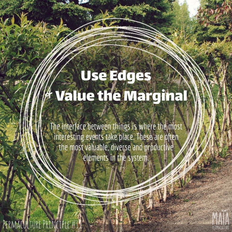 use edges and value the marginal