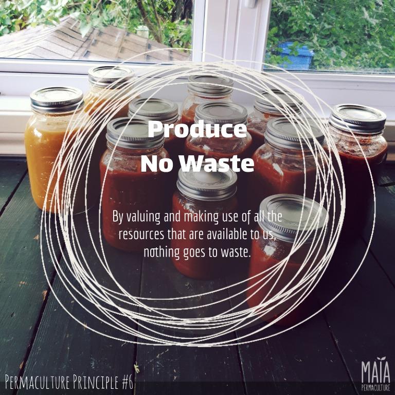 produce no waste