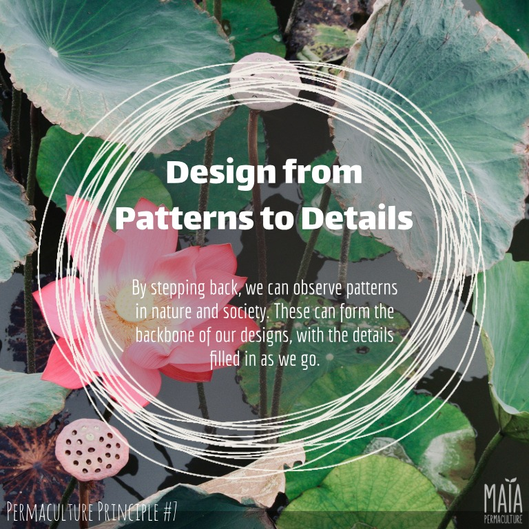 design from patterns to details