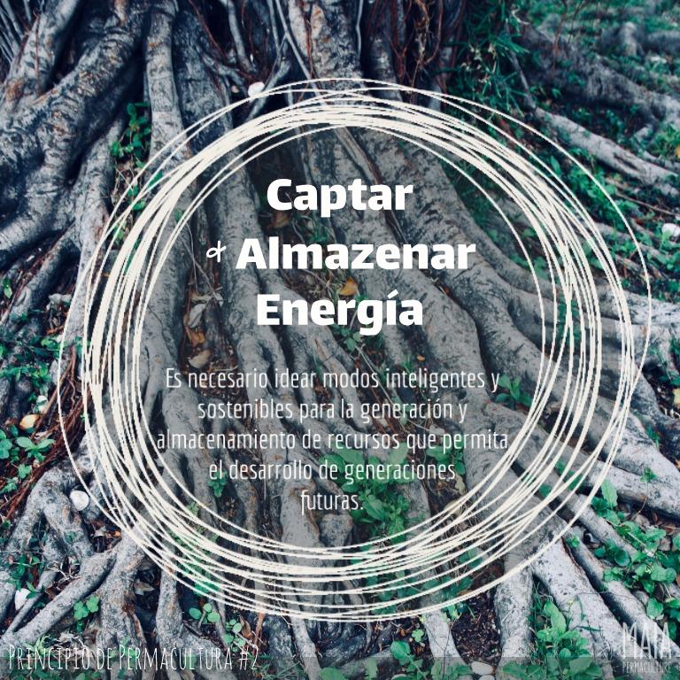 Captura & guarda energía